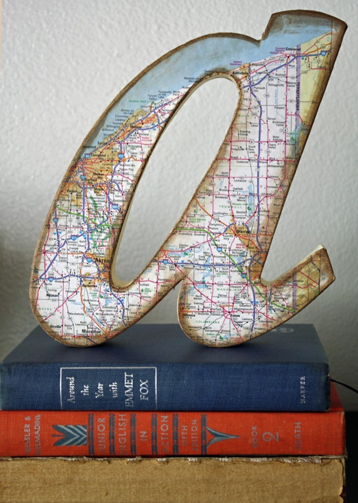 DIY Letras decorativas