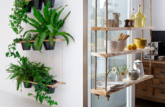 9 id es pour cr er une suspension de plantes simples et for Decoratie vensterbank keuken