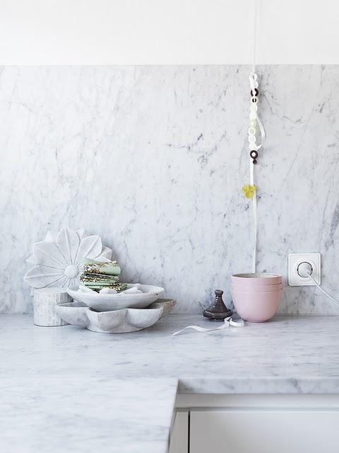 DECOuvrir-Le marbre dans la deco
