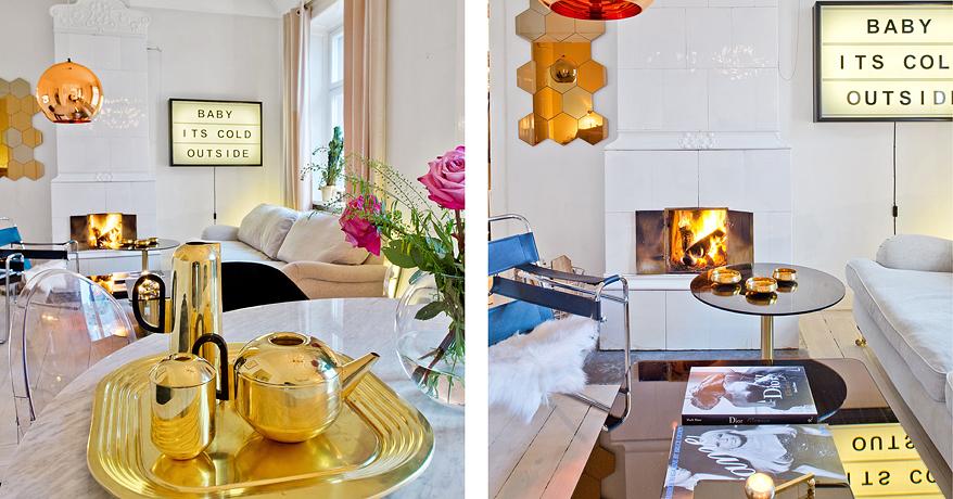 apartamento moderno com design escandinavo