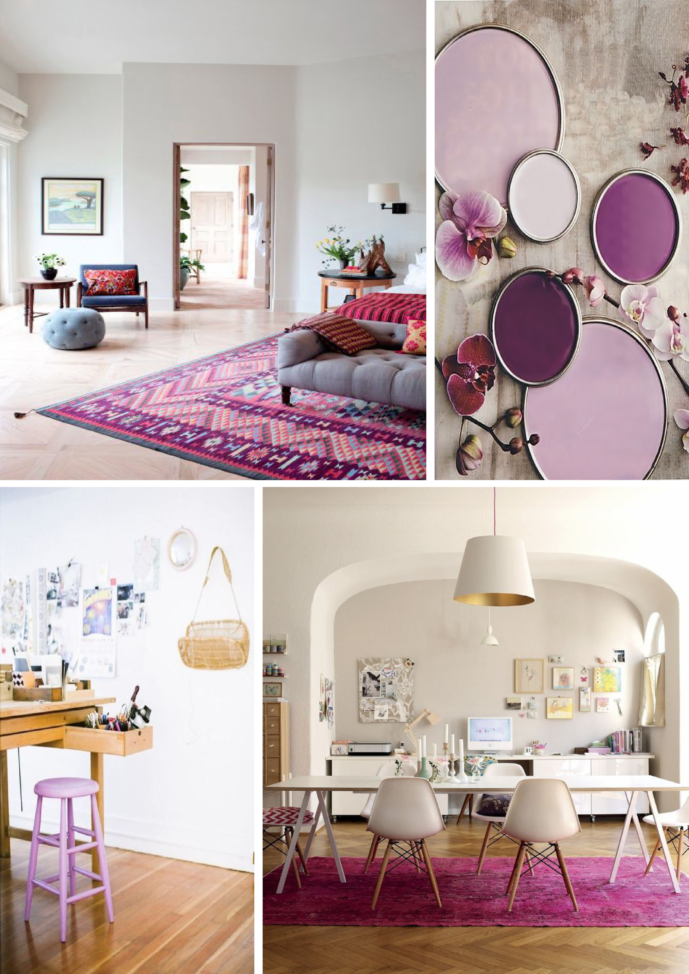Radiant Orchid pantone 2014