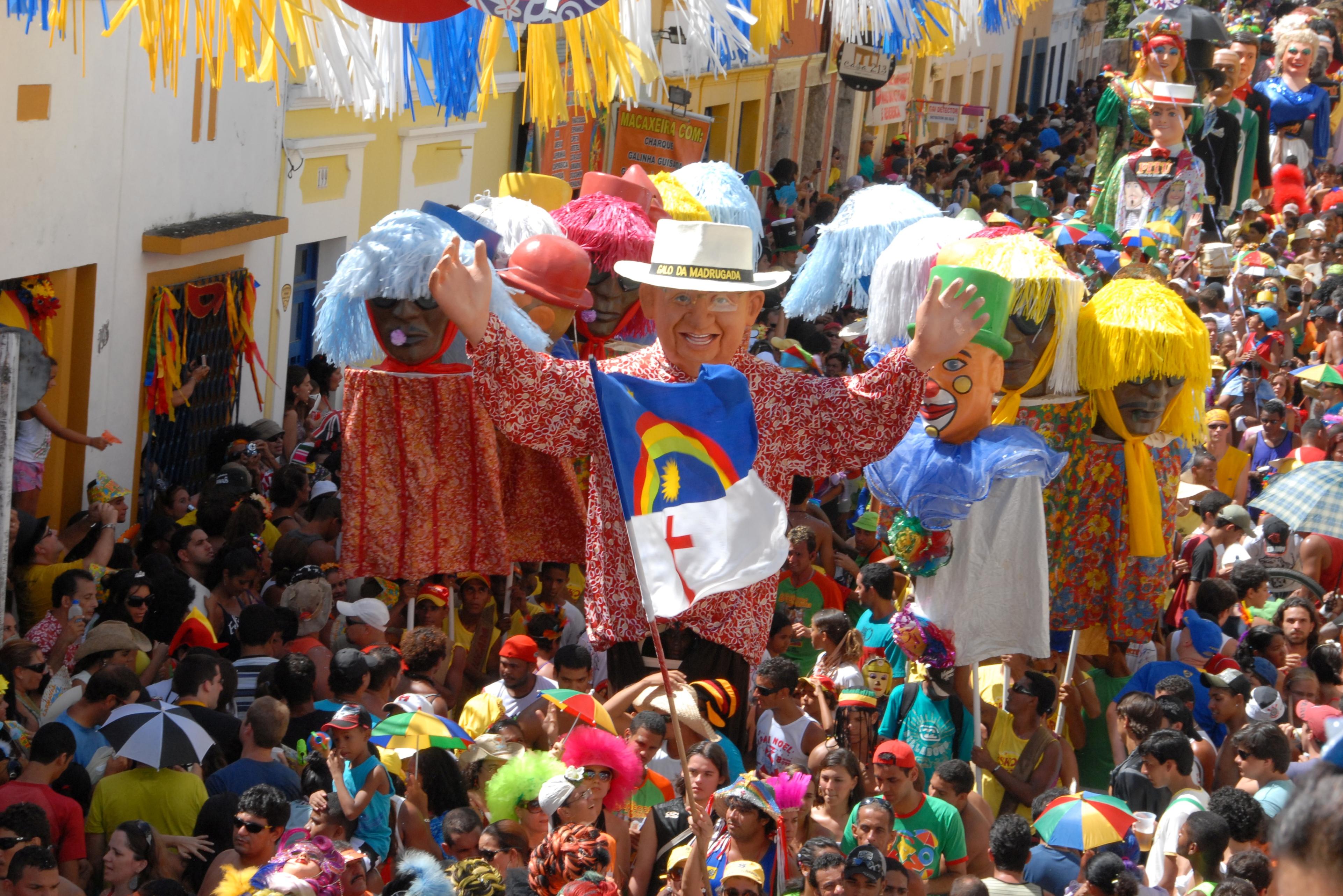 Carnaval de Olinda Pernambuco, Brasil
