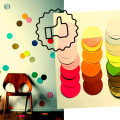 DIY decor coloré; carnaval