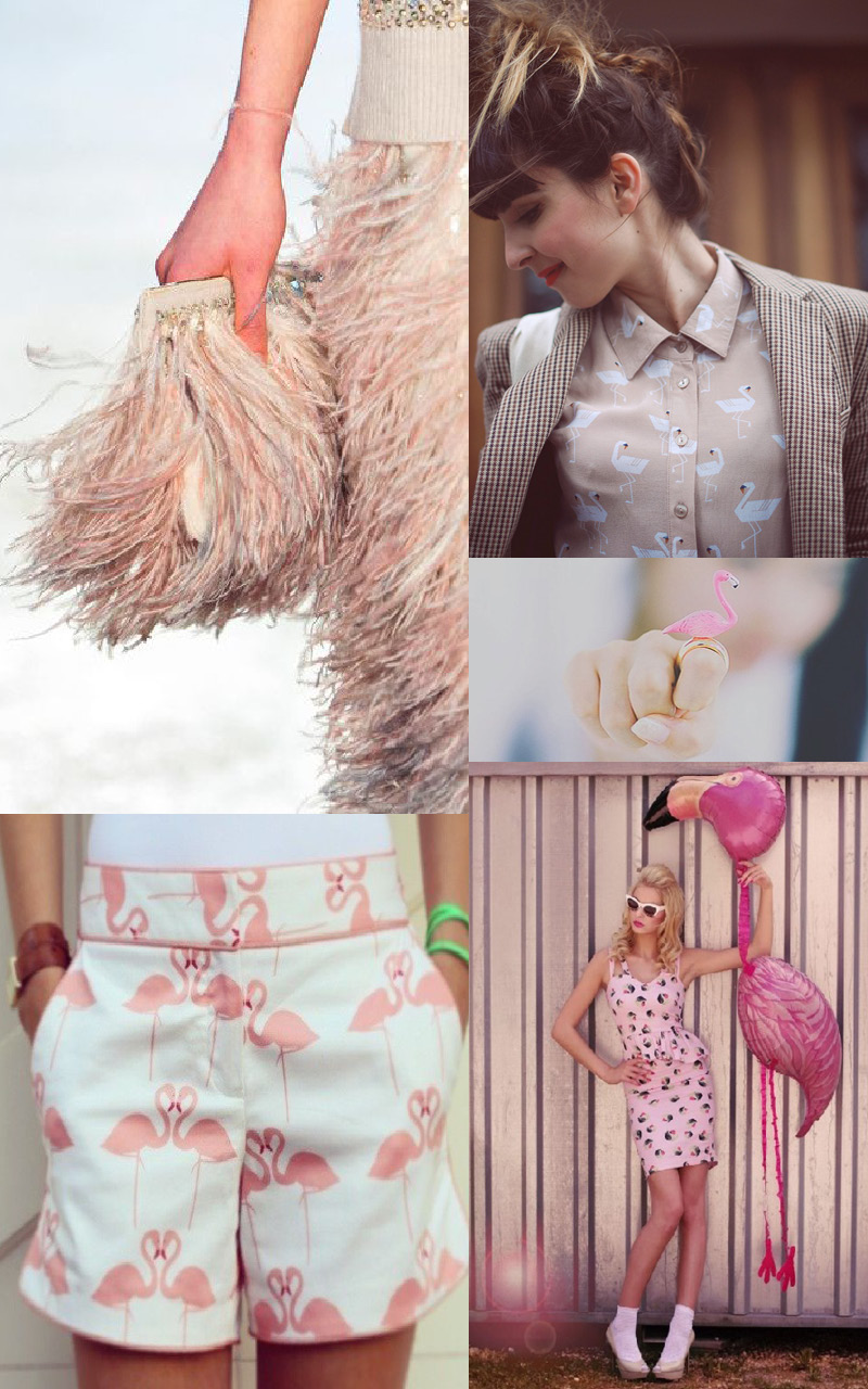 tendance mode 2014 flamingo feelings