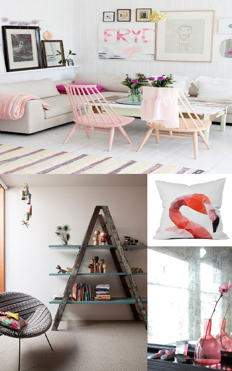 tendance flamingo feelings