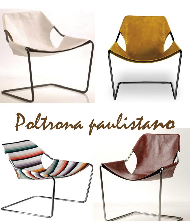 Poltrona Paulistano design brasileiro
