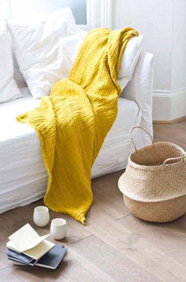 Tendência linho: Um tecido natural e milenar que garante elegância, estilo e beleza na decoração.