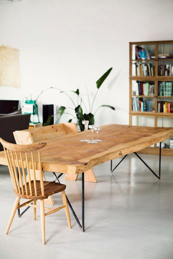 deco - table en bois