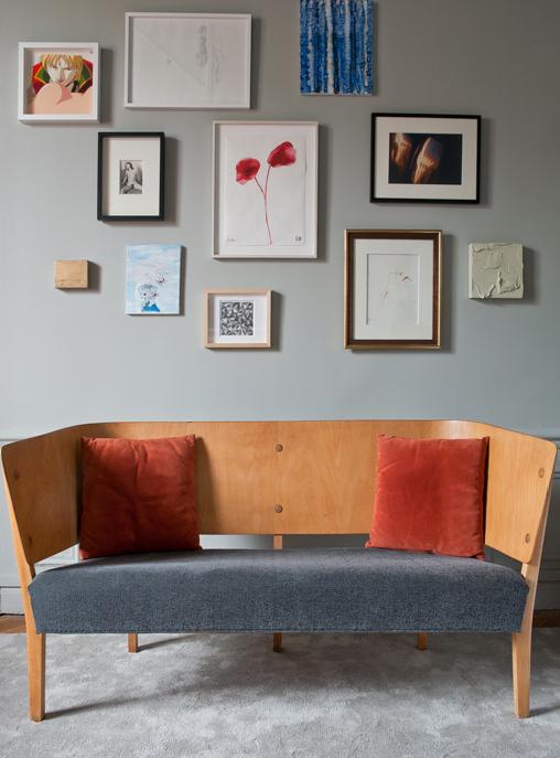 Appartement contemporain à Paris - Luis Laplace