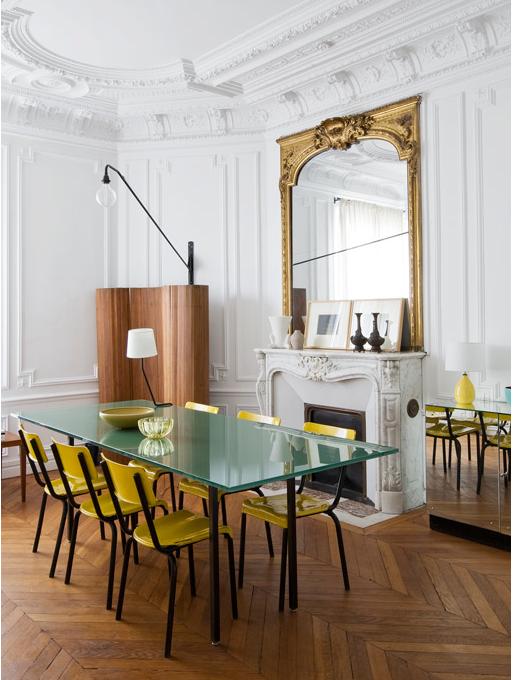 Un mix de luxe l gance couleurs et bonnes id es dans un - Appartement luxe paris avec design sophistique et elegant ...