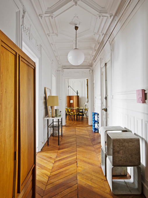 Appartement contemporain à Paris - Luis Laplace