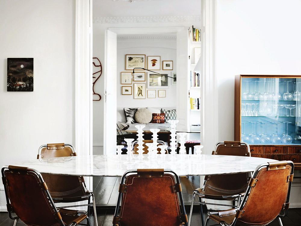 Visite privée tendance marbre déco murale et style scandinave des idées à piquer