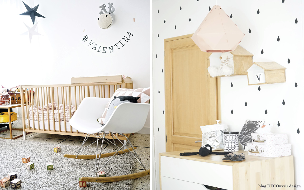 La chambre de Valentina - blog DECOuvrir design ;