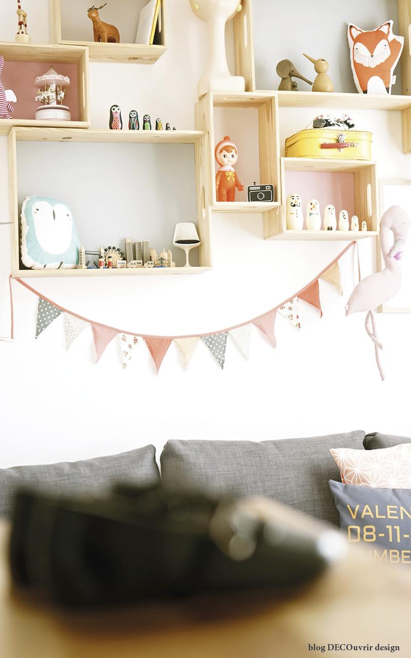 La chambre de Valentina ; - blog DECOuvrir design