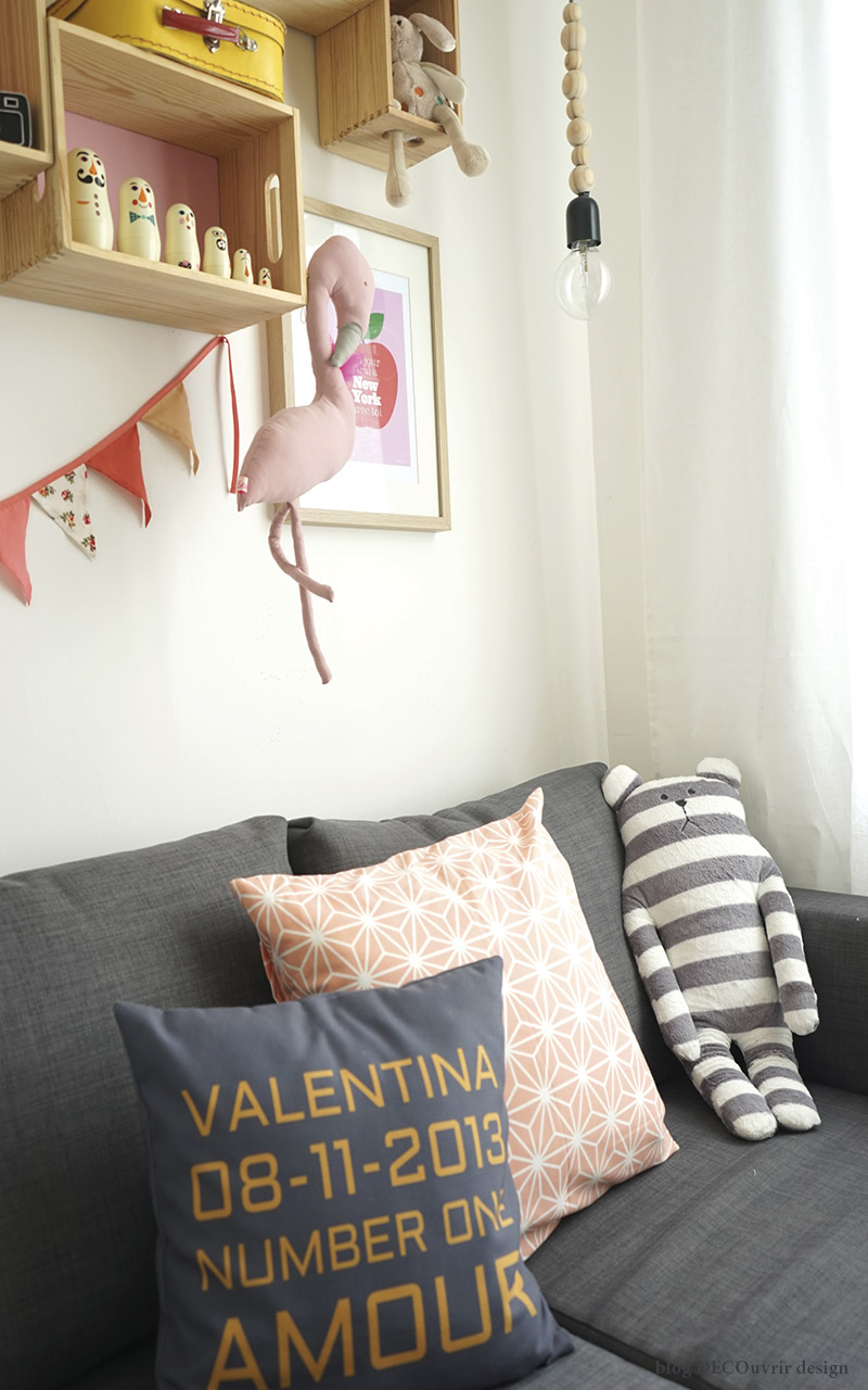La chambre de Valentina ; - blog DECOuvrir design2