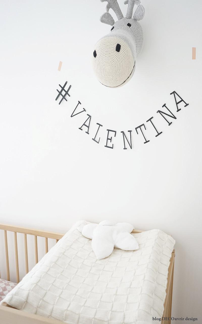 La chambre de Valentina ; - blog DECOuvrir design8