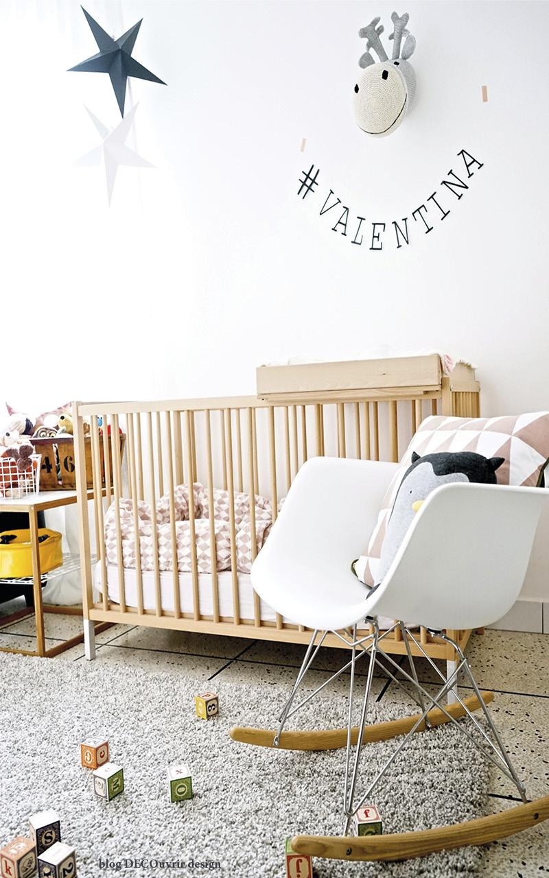 La chambre de Valentina ; - blog DECOuvrir design9