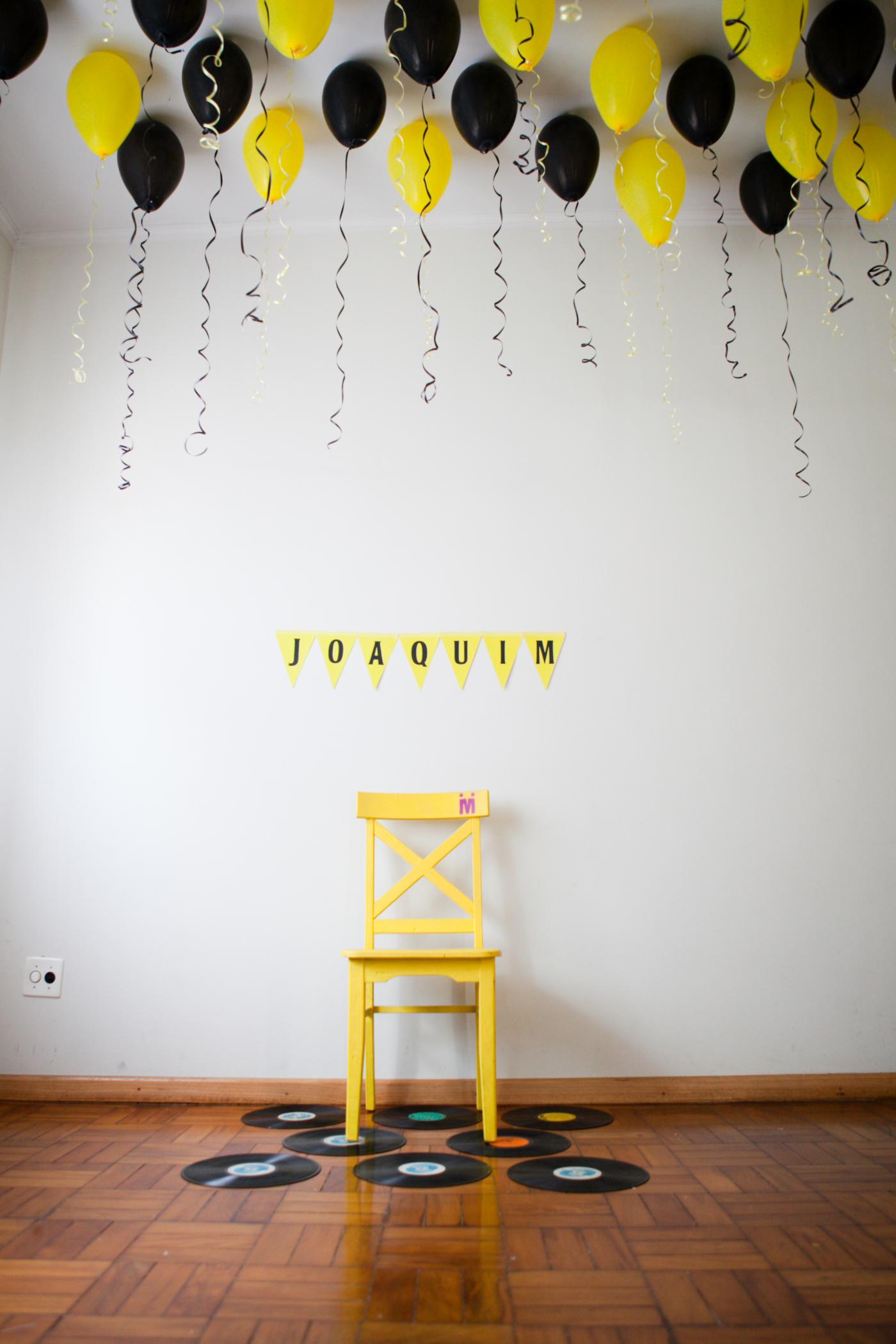 A primeira festinha de aniversário do Joaquim: decoração e alegria!