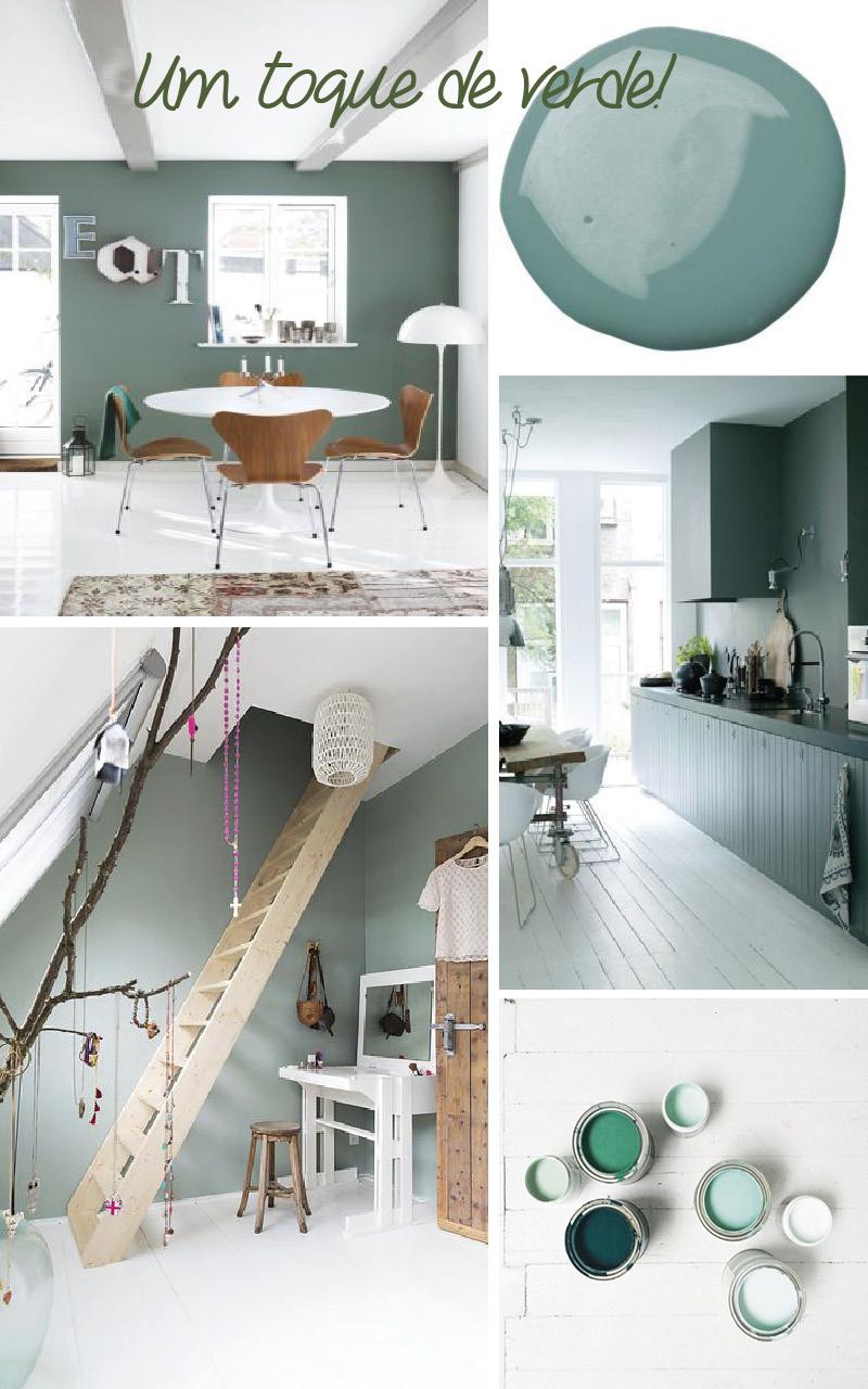 Choisir du vert pour les murs 5 bonnes raisons decouvrirdesign - Peindre un mur en couleur ...