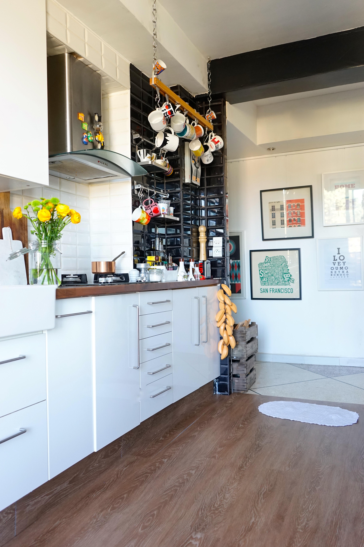 Test et approuv un nouveau rev tement de sol pour ma cuisine decouvrird - Revetement sol cuisine ...
