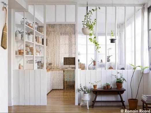 id es pour s parer les pi ces sans cloisonner les espaces decouvrirdesign. Black Bedroom Furniture Sets. Home Design Ideas