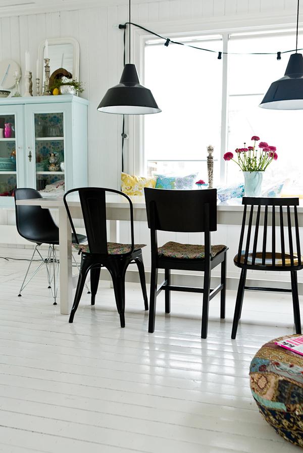 Chaises Dépareillées Mode Demploi DecouvrirDesign - Ensemble table et chaise scandinave pour idees de deco de cuisine