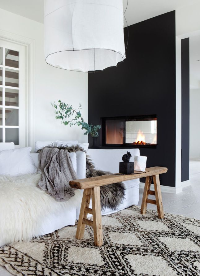 5 astuces d co pour r chauffer la maison et marquer les changements de saison decouvrirdesign. Black Bedroom Furniture Sets. Home Design Ideas
