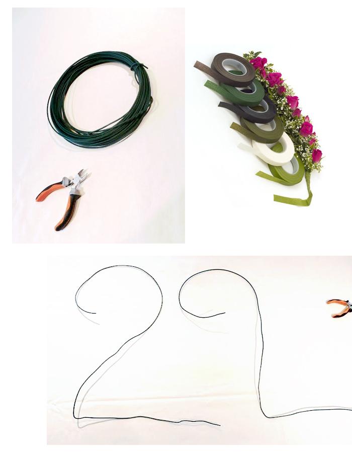 DIY-un-chiffre-de-fleurs-tableau-végétal