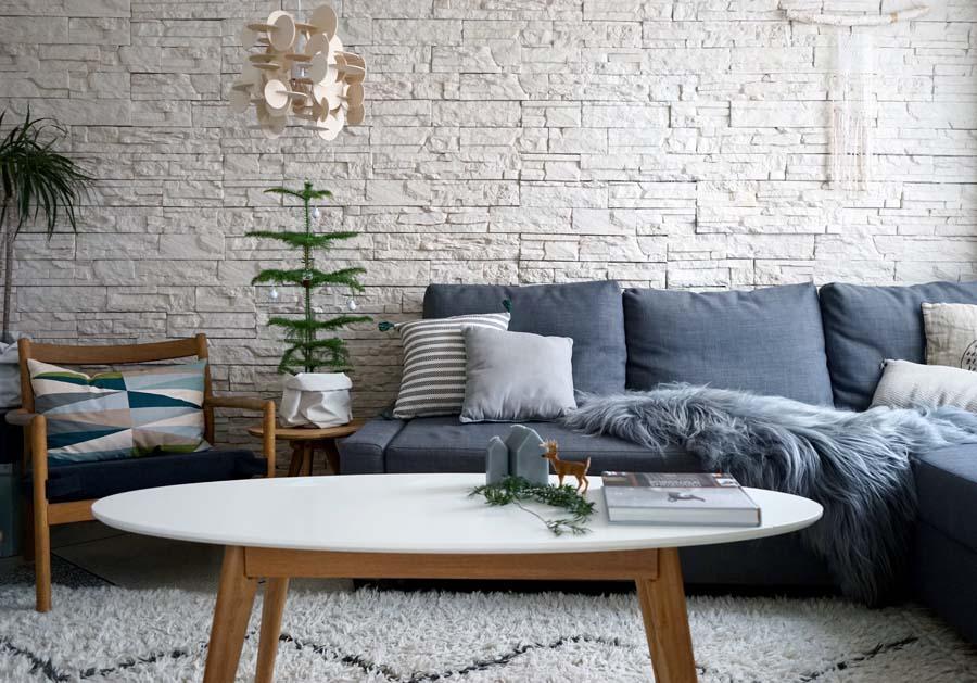 Ma décoration hivernale scandinave