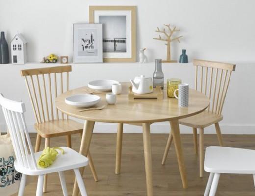 chaise scandinave a barreau