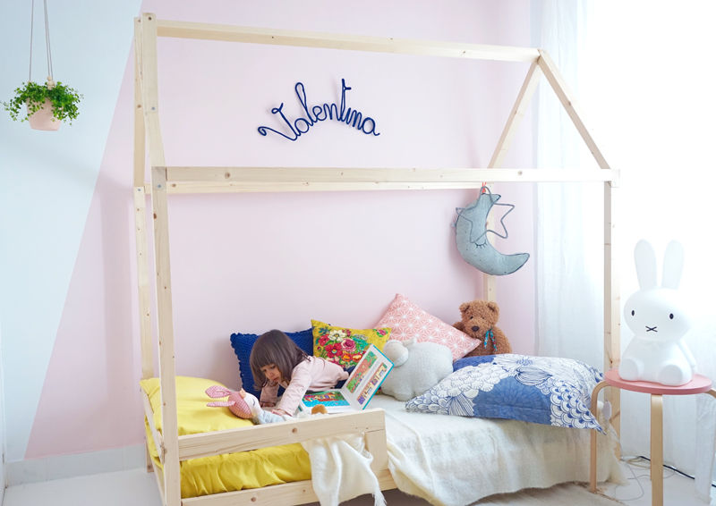 diy un lit cabane pour une chambre d 39 enfant decouvrirdesign. Black Bedroom Furniture Sets. Home Design Ideas