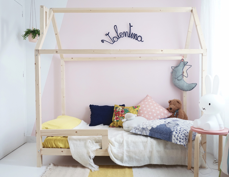 diy un lit cabane pour une chambre d 39 enfant. Black Bedroom Furniture Sets. Home Design Ideas