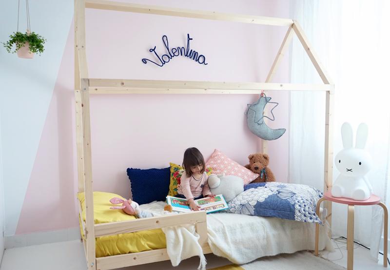 Lit palette enfant photos de conception de maison for Chambre enfant palette