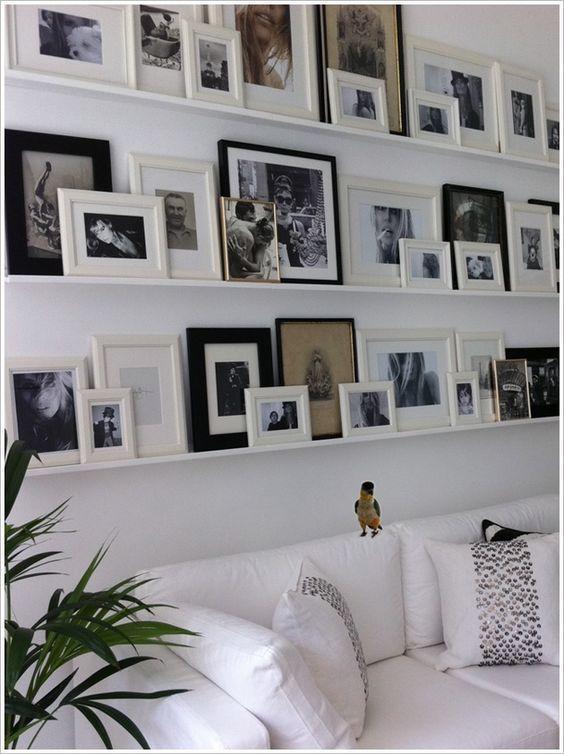décorer avec des photos
