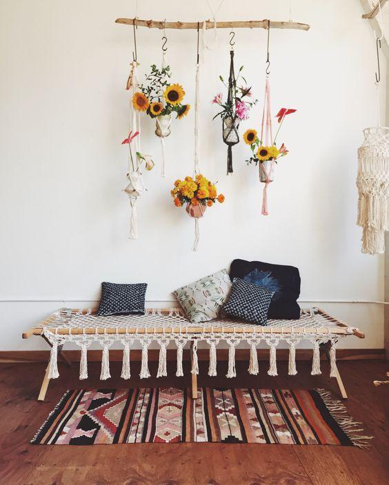 decoration boheme vintage. Black Bedroom Furniture Sets. Home Design Ideas