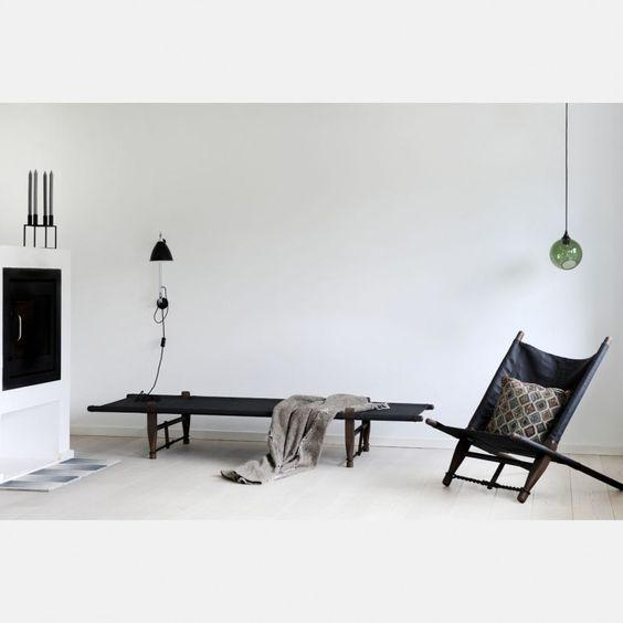 lit de camp idée déco bohème et style scandinave