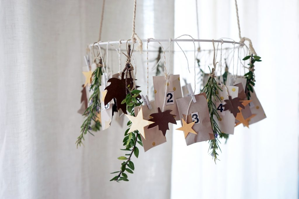 DIY : Mon calendrier de l'avent d'inspiration kinfolk