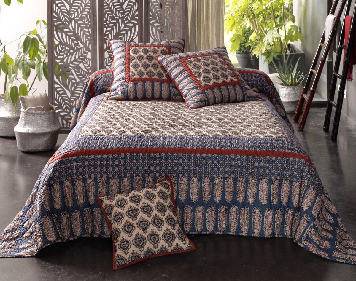 De l 39 inspiration pour une parure de lit tendance decouvrirdesign - Parure de lit ethnique ...