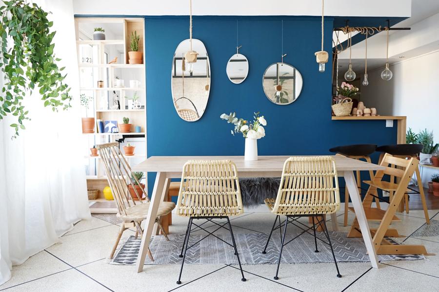 j 39 ai adopt la tendance du bleu en d co chez moi decouvrirdesign. Black Bedroom Furniture Sets. Home Design Ideas