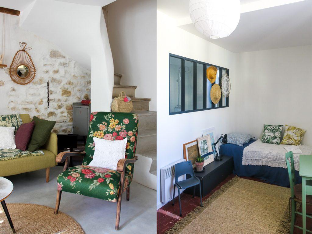 La jolie maison de vacances de la blogueuse Nathalie au sud