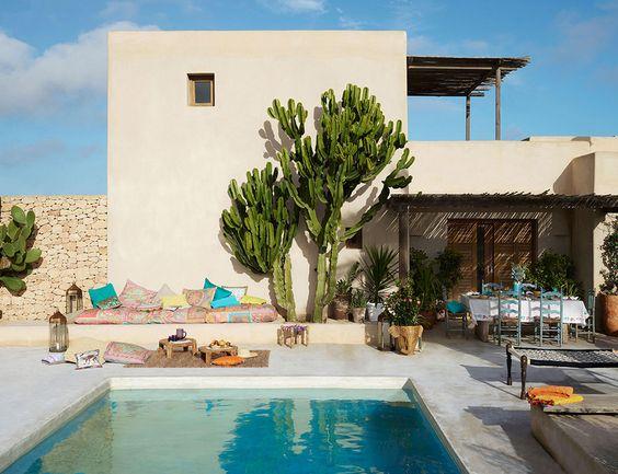 8 astuces pour une d co terrasse boh me decouvrirdesign for Deco buitenkant terras