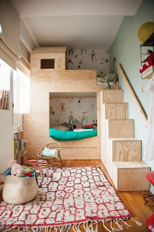 Rangement optimiser l espace apr s l arriv e d un enfant - Bibliotheque sur mesure lapeyre ...
