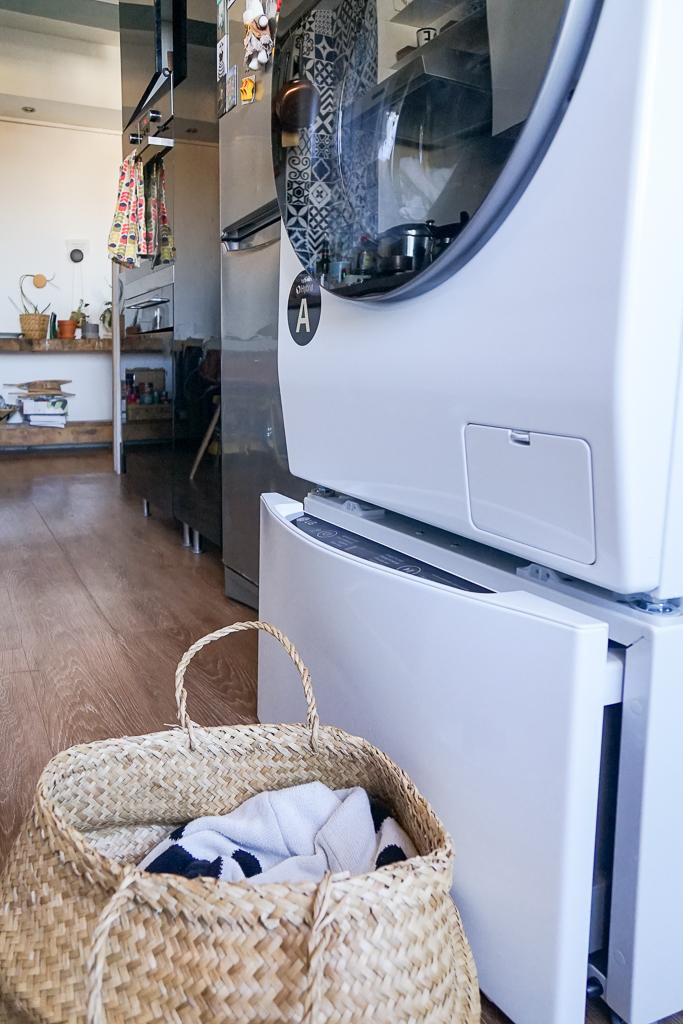 lg twinwash le nouveau lave linge s chant connect decouvrirdesign. Black Bedroom Furniture Sets. Home Design Ideas