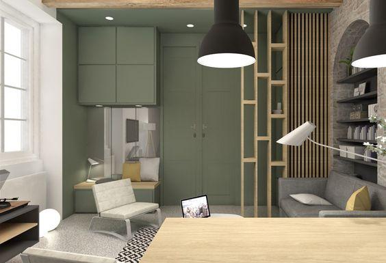 des id es pour cr er et d limiter un espace entr e decouvrirdesign. Black Bedroom Furniture Sets. Home Design Ideas