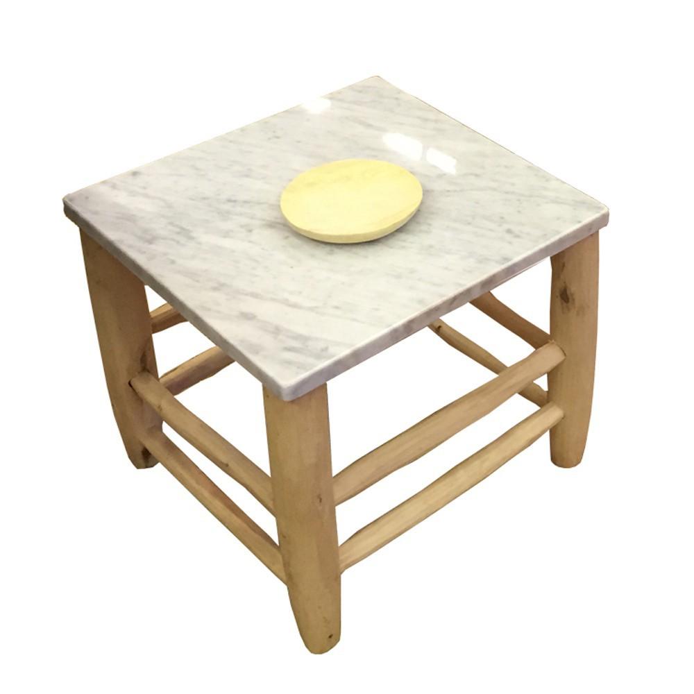 table-beldi-bois-et-marbre-blanc