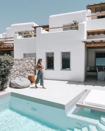 Terrasse à la grecque