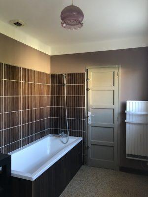 Notre nouvelle salle de bain à la robinetterie noire ...