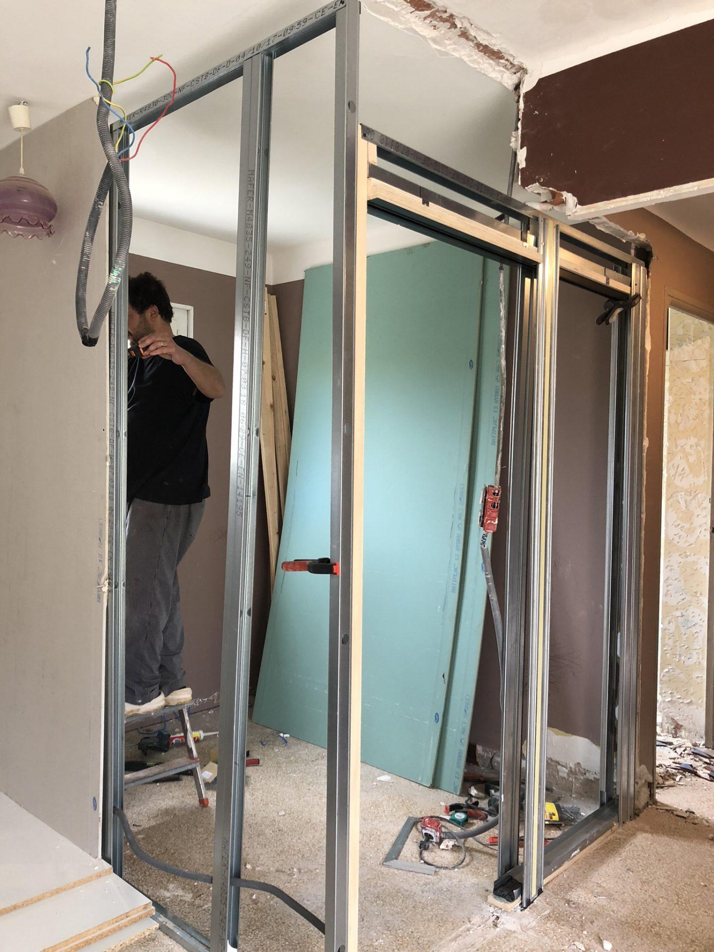 renovation salle de bain 2 decouvrirdesign. Black Bedroom Furniture Sets. Home Design Ideas