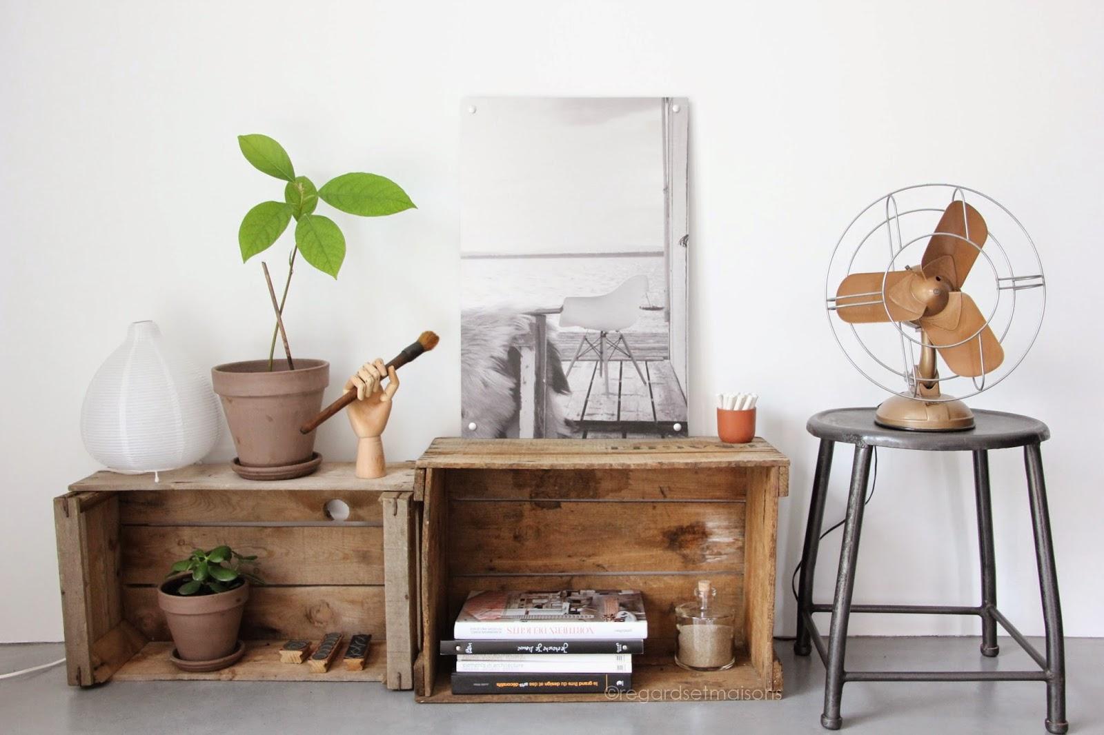 visite priv e blogueur chez nathalie regardes et maisons decouvrirdesign. Black Bedroom Furniture Sets. Home Design Ideas
