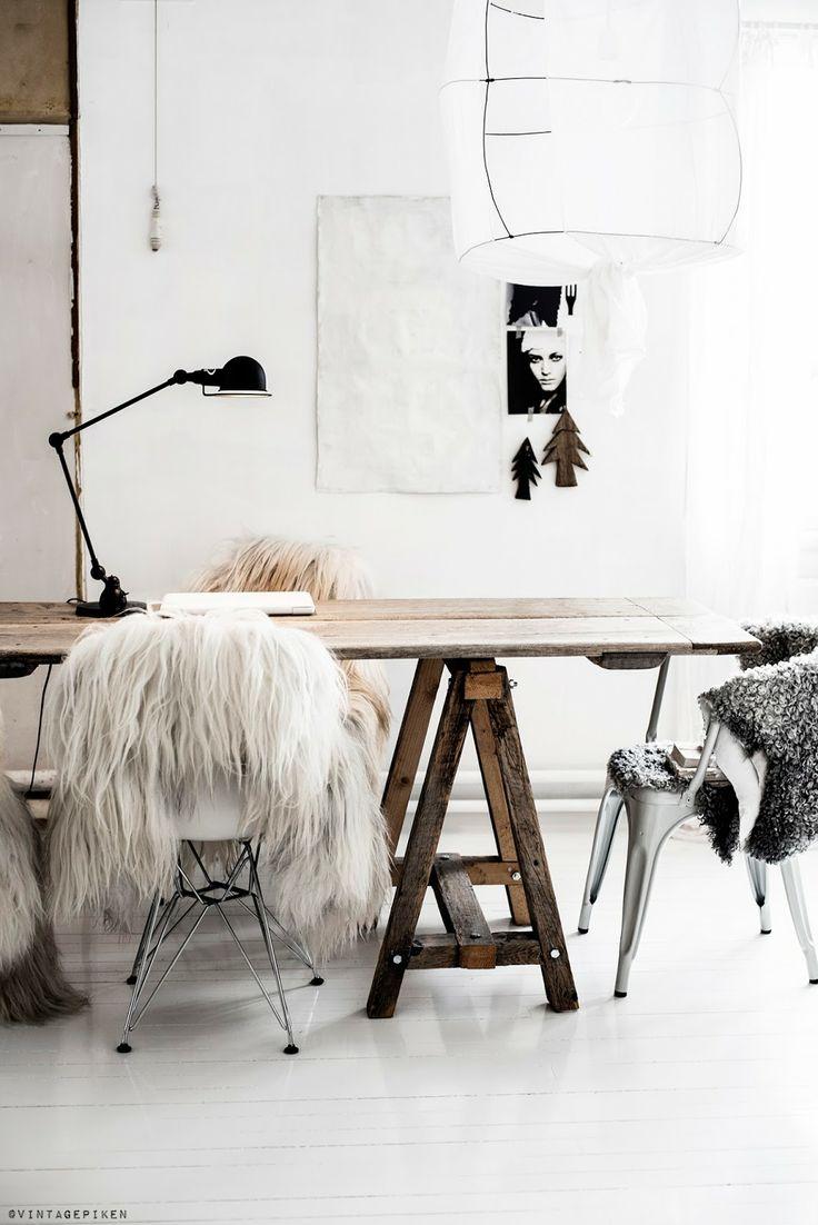 Peau De Mouton Grise Ikea déco automnale avec une impression peau de mouton